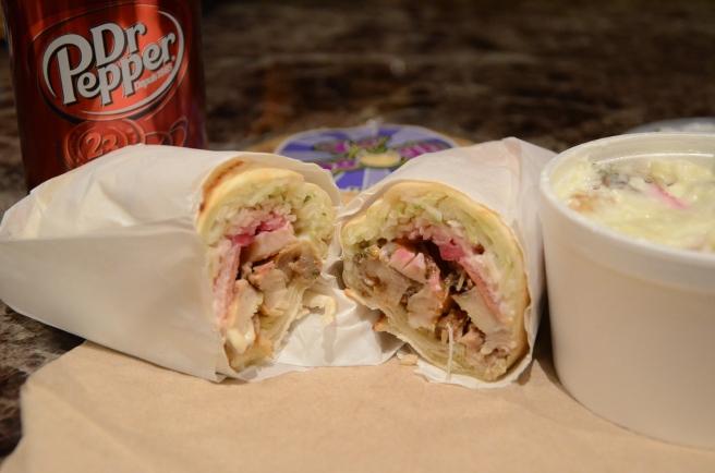 Boustan Chicken Shawarma Sandwich